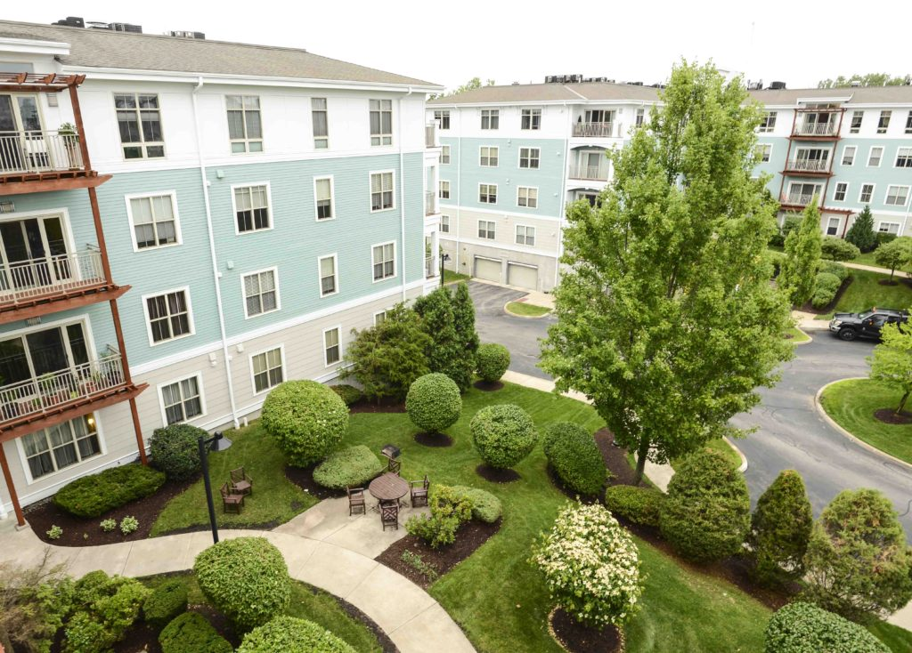 Repton Place Condo Lush, Green Grounds and Inviting Common Areas, including Common Outdoor Space, Outdoor Grilling/Dining Area with New Stainless Grills and Furniture,