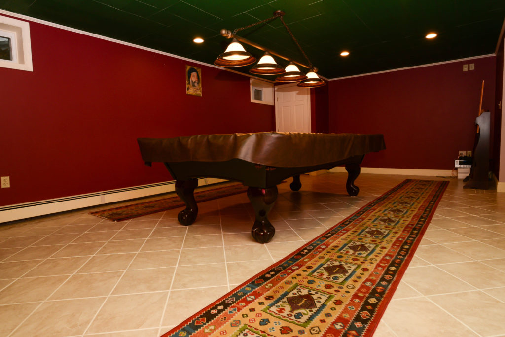 Finished Lower Level with Game Room 7 Bonvini Drive framingham real estate
