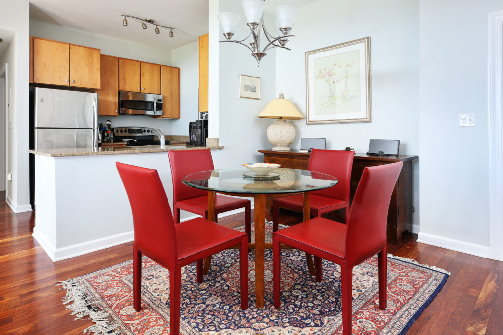 Repton Place Condo Unit 4415 Open Plan Living/Dining Room