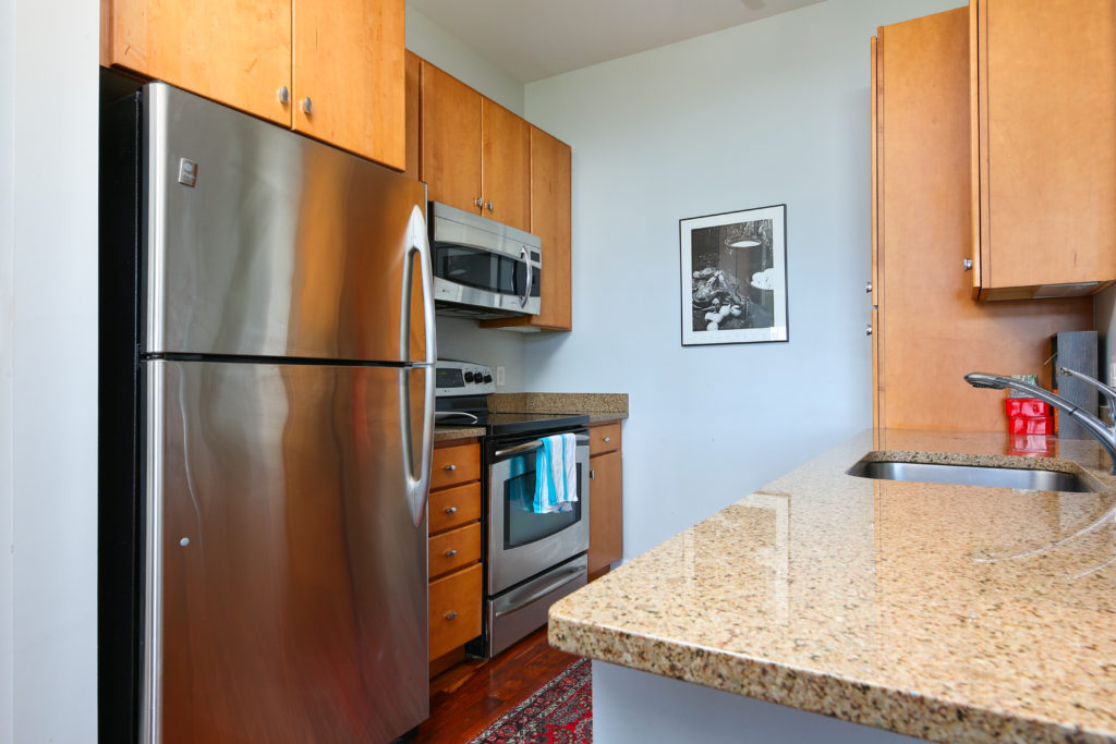 Repton Place Condo Unit 4415 Gourmet Stainless Kitchen